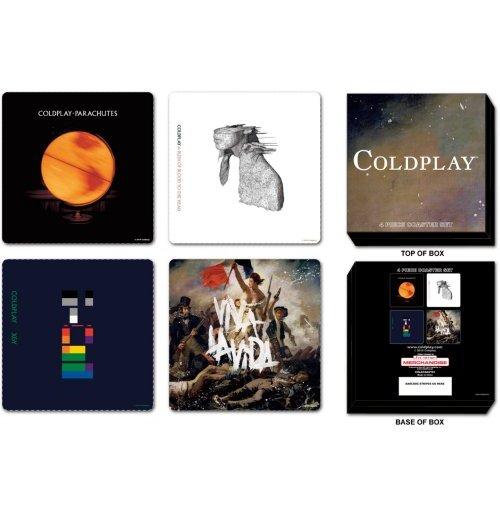 Image of Coldplay - Set (Set 4 Sottobicchieri)