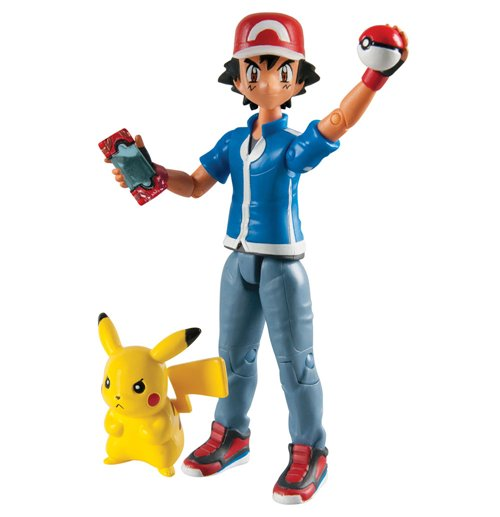 Image of Action figure Pokémon Ash & Pikachu