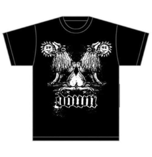 Image of T-shirt Down Double Lion