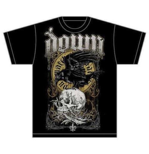 Image of T-shirt Down Swamp Skull