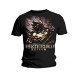 T-shirt disturbed asylum