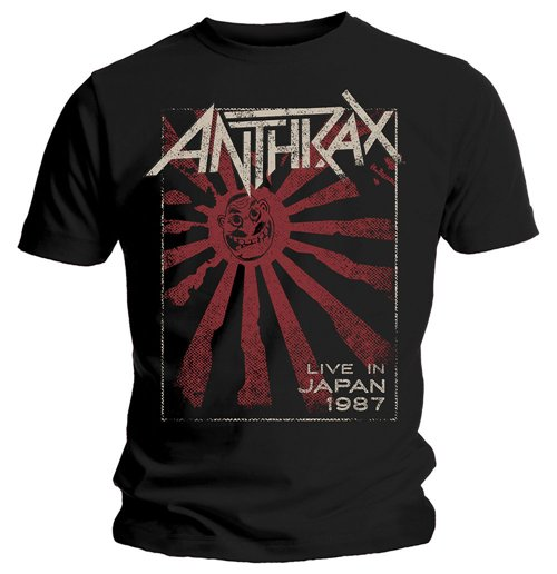 Image of T-shirt Anthrax  Live in Japan
