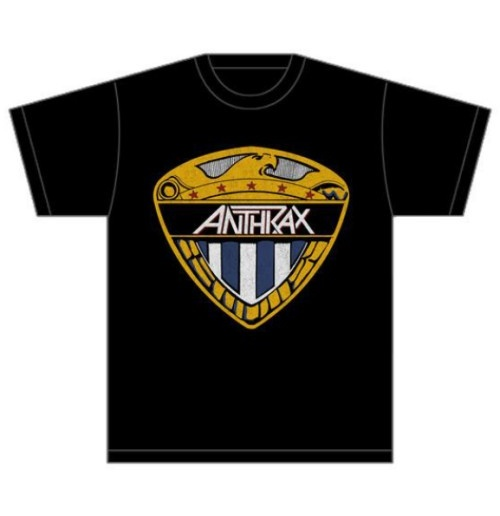 Image of T-shirt Anthrax Eagle Shield