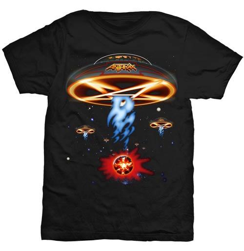 Image of T-shirt Anthrax Anthems Smoking