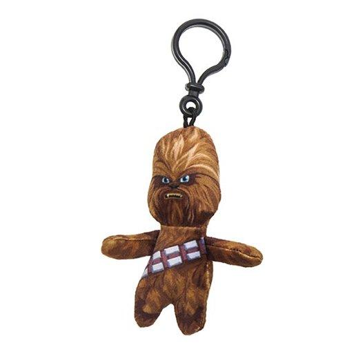 Image of Star Wars - Portachiavi Peluche Chewbacca 8 Cm