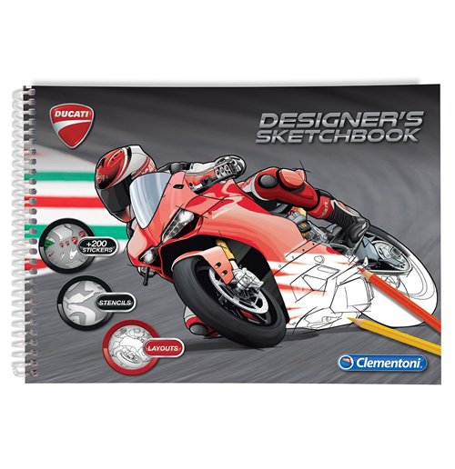 Image of Sketchbook Ducati
