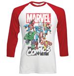 langarmeliges-t-shirt-marvel-superheroes-marvel-montage