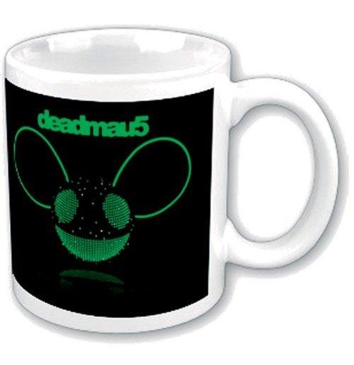 Image of Deadmau5 - Green Disco-ball Head (Tazza)
