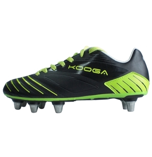 Image of Advantage Scarpa Rugby Punta Morbida NERO/GIALLO