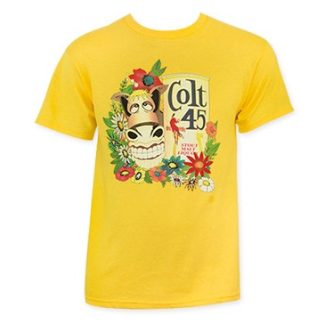 Image of T-shirt Colt 45 Gold Donkey