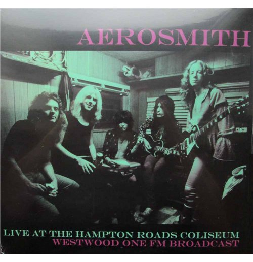 Image of Vinile Aerosmith - Live At The Hampton Road Coliseum Westwood One Fm Broadcast (2 Lp)
