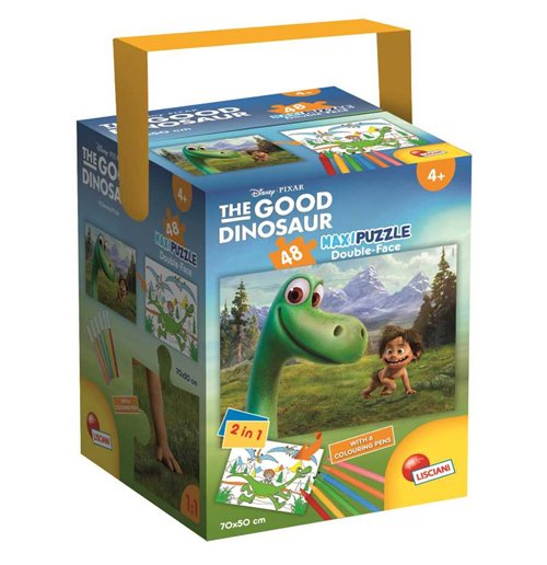 Image of Good Dinosaur (The) - Il Viaggio Di Arlo - Fustino Color + Puzzle Maxi 48 Pz