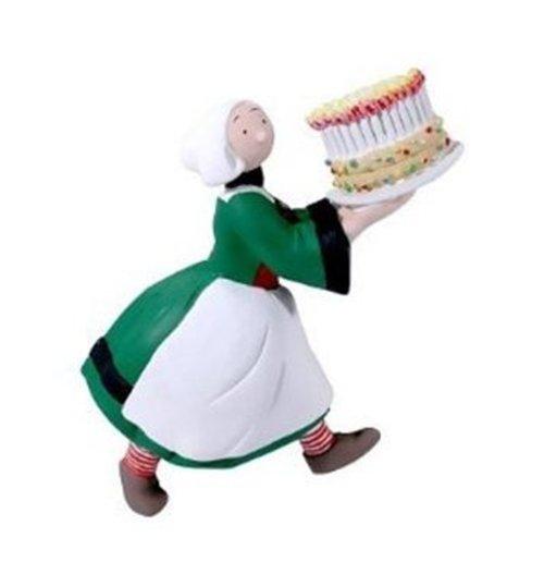 Image of Plastoy 70164 - Becassine - Calamita Becassine Con Torta Di Compleanno