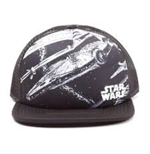Image of Star Wars - Millennium Falcon Snapback (Cappellino)