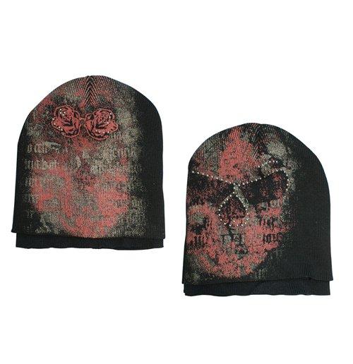 Image of Alchemy - Double Layers Skull Stone (Berretto)