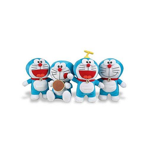 Image of Doraemon - Peluche 20 Cm - Assortimento 4 Pz