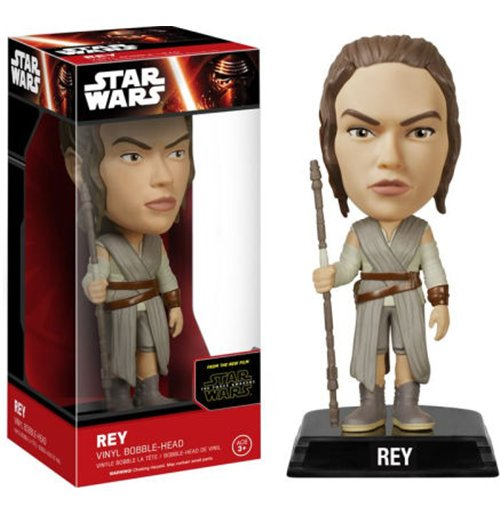 Image of Star Wars - The Force Awakens - Rey (Bobble-Head)