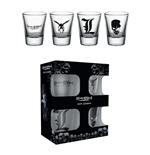 Death Note Set 4 verres à liqueur Mix