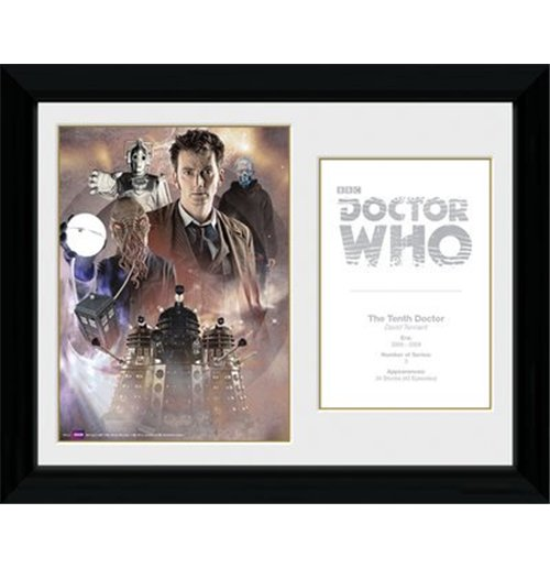 Image of Doctor Who - 10th Doctor David Tennant (Foto In Cornice 30x40cm)