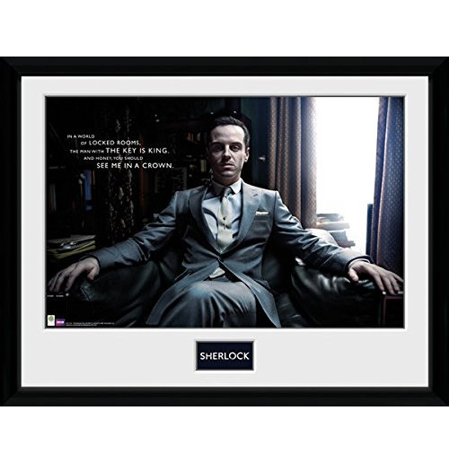 Image of Sherlock - Moriarty Chair (Foto In Cornice 30x40cm)