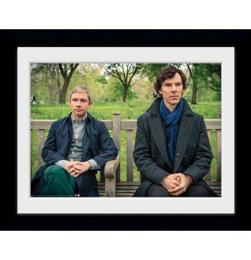 Image of Sherlock - Park Bench (Foto In Cornice 30x40cm)