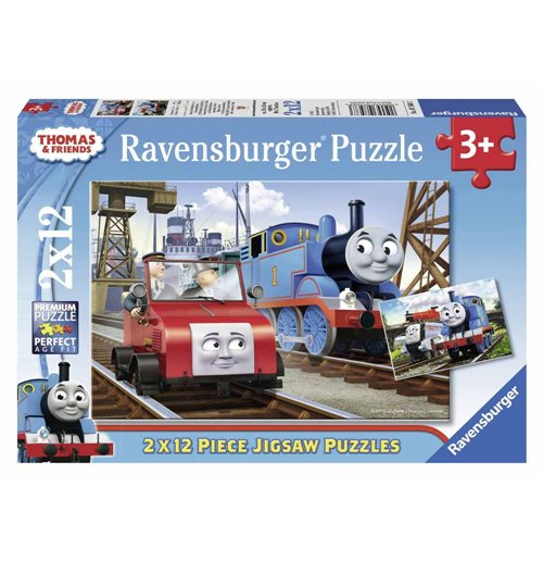 Image of Ravensburger 07568 - Puzzle 2x12 Pz - Thomas And Friends