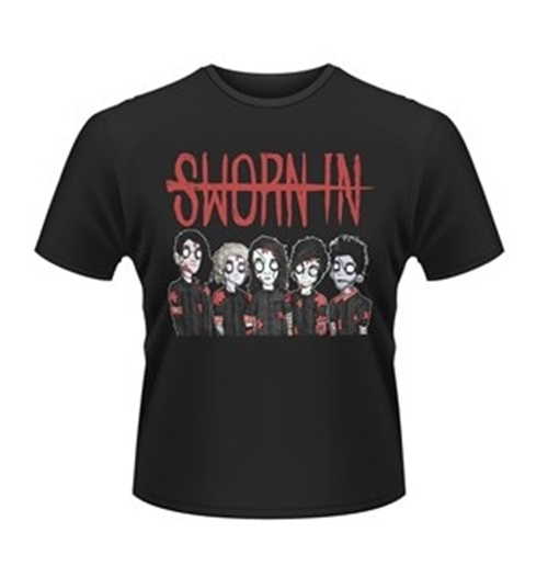 Image of T-shirt Sworn In Zombie Band