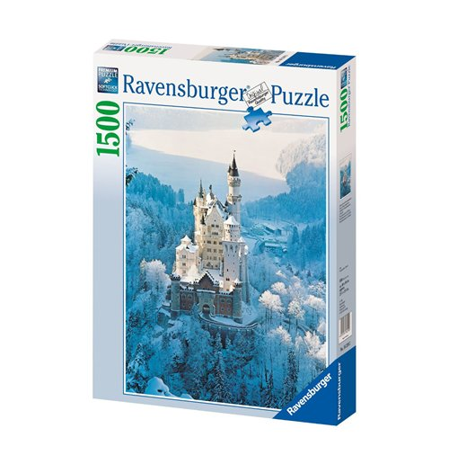 Image of Ravensburger 16219 - Puzzle 1500 Pz - Neuschwanstein D'Inverno
