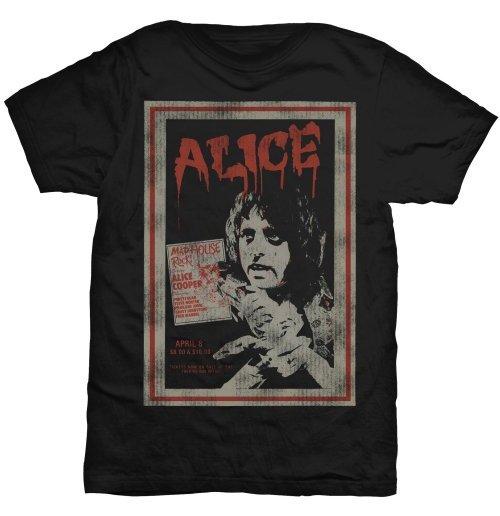 Image of Alice Cooper - Vintage Poster (T-SHIRT Unisex )