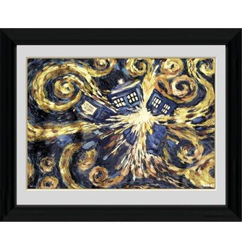 Image of Doctor Who - Exploding Tardis (Foto In Cornice 30x40cm)