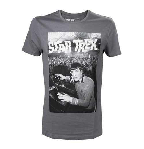 Image of Star Trek - Grey Spock Is A Dj (T-SHIRT Unisex )
