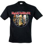 Iron Maiden Eddie Evolution (T SHIRT Unisex )