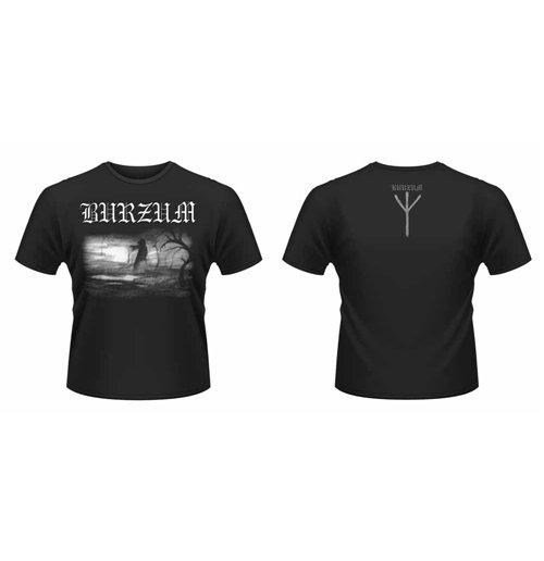 Image of T-shirt Burzum - Aske 2013 Front & Back Print