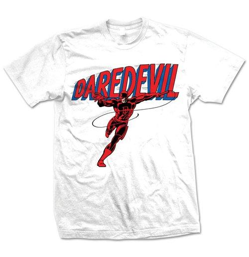 Image of Marvel Comics - Daredevil Logo Bianco (T-SHIRT Unisex )