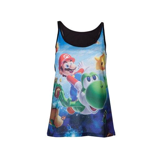 Image of Nintendo - Top Ladies Super Mario Galaxy 2 (top Donna )