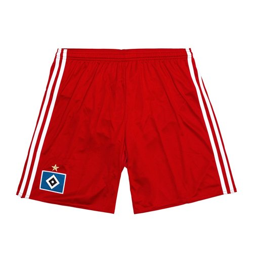 Image of Pantaloncini Short Amburgo 2016-2017 Home (Rosso)