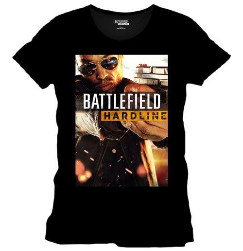 Image of Battlefield Hardline - Basic Poster Black (T-SHIRT Unisex )