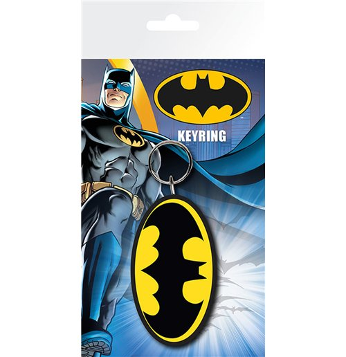 Image of Batman Comic - Logo (portachiavi Gomma)