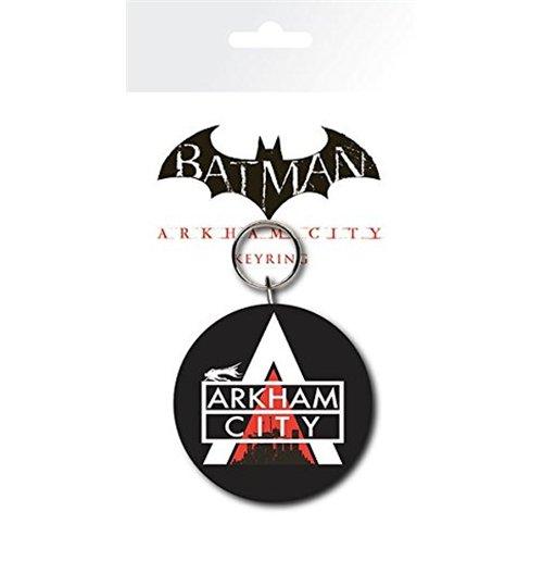Image of Batman Arkham City - Logo (Portachiavi Gomma)