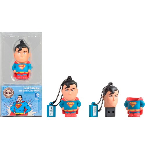 Memória USB 8 Gb Dc Comics - Superman