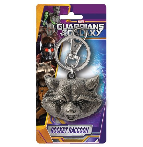 Image of Guardians Of The Galaxy - Rocket Raccoon Pewter (Portachiavi)