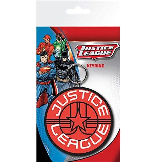 Image of Dc Comics - Justice League Star (Portachiavi Gomma)