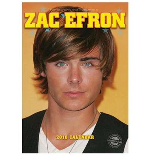Zac Efron Calendar 2010 ...