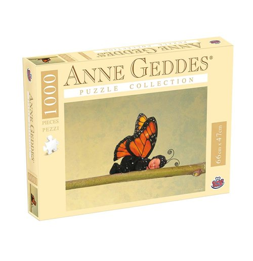 Image of Anne Geddes - Puzzle 1000 Pz - Butterlfy