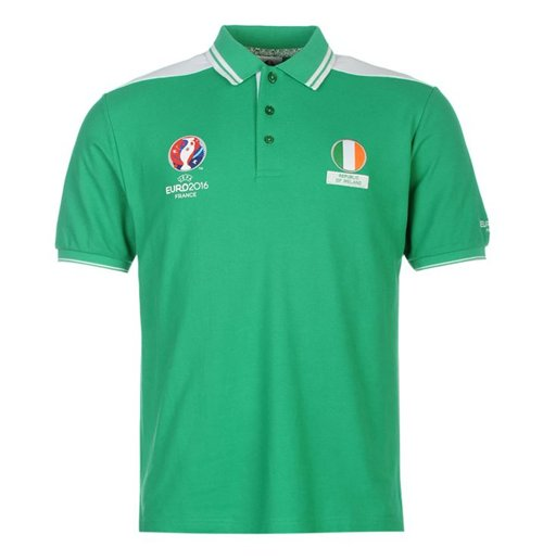 Image of Polo Irlanda UEFA Euro 2016 (Verde)