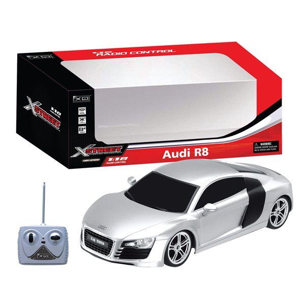 Image of Audi R8 R/C - Scala 1:18