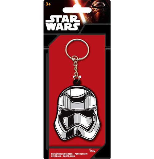 Image of Star Wars - Portachiavi In Plastica Captain Phasma