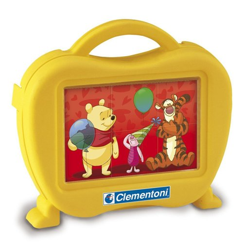 Image of Puzzle Baby Cubi 6 Pz - Winnie The Pooh