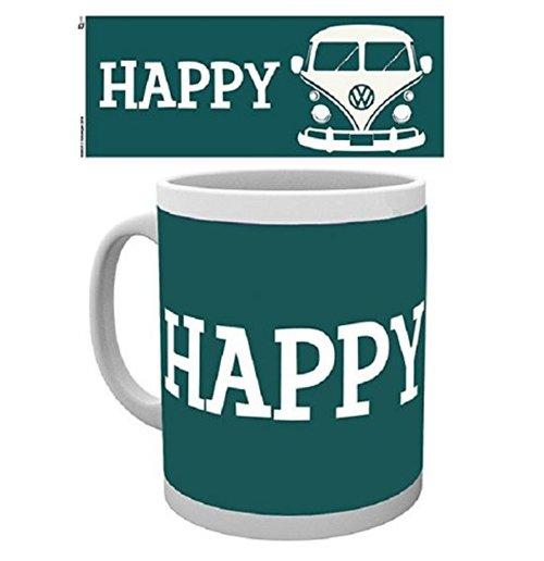 Image of Vw Camper - Happy Camper (Tazza)