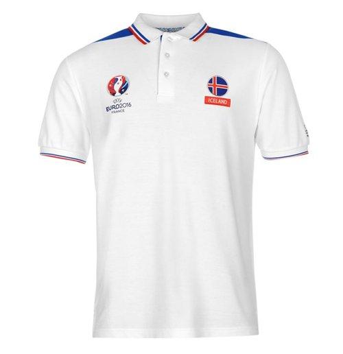 Image of Polo Islanda calcio (Bianco)
